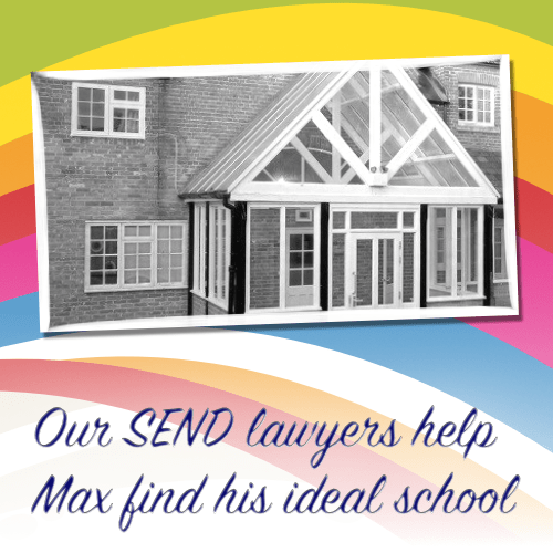Our SEND lawyers help Max find his ideal school