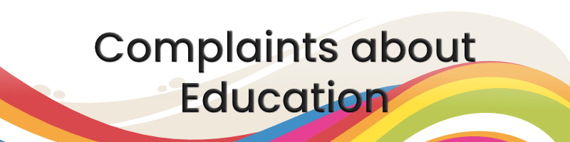 Education complaints