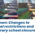 Lockdown: Changes to national restrictions and temporary school closures